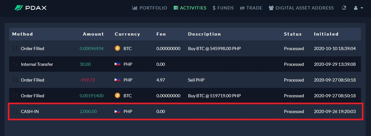 pdax cryptocurrency